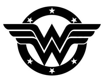 Wonder Woman Vinyl Decal