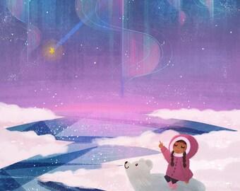 Polar Night Print