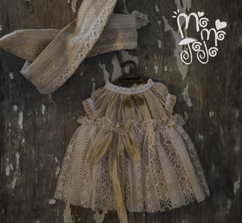 Shabby chic robe tenue avec bande de cheveux pour for Tenue shabby chic
