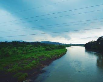 Crocodile River in Costa Rica