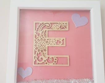 Gorgeous letter frame