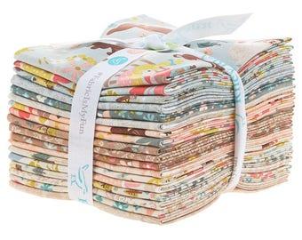 Goldilocks Fat Quarter Bundle by Jill Howarth for Riley Blake (18 pcs) - juvenile nursey rhymes cotton quilting fabric