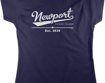 Newport, Rhode Island, Est. 1639 Women's T-shirt, NOFO_01226