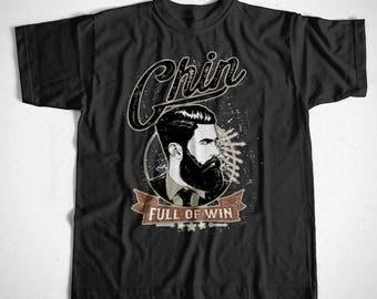 T-Shirt Chin full of win