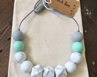 Teething Necklace / Sweet Marbles Nursing Necklace