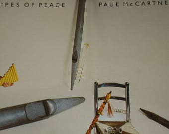 Paul McCartney vinyl record, Pipes Of Peace vintage record album