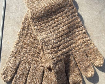 Hand made Alpaca gloves