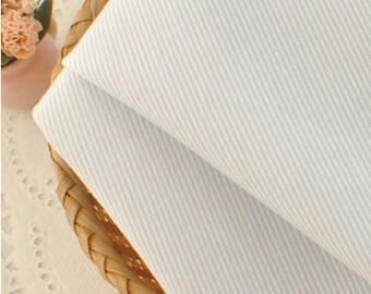 Light Blue Striped Cotton Fabric MT057