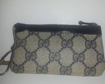 vintage Gucci coin purse keychain