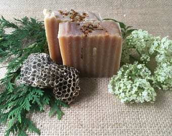 Calendula, Elder Flower and Honey Soap, Herbal Soap, Natural Soap. Herbal Skin Care, Natural Skin Care,, Cold-Processed Soap, Handcrafted