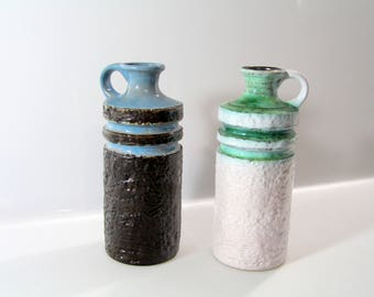 Nice vase by VEB Haldensleben - DDR - East Germany 4087A, German Pottery, mid century