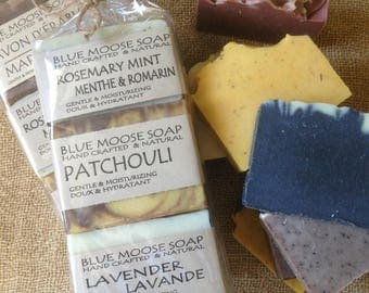 Six Big Bars of Natural Soap