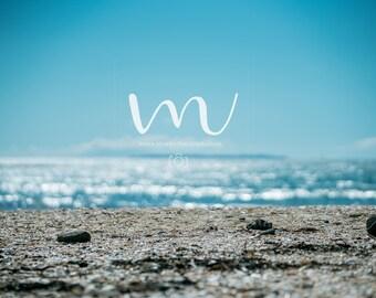 Beach- Digital Background