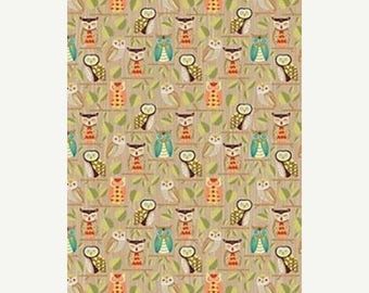 60% OFF Owl Wrapping Paper
