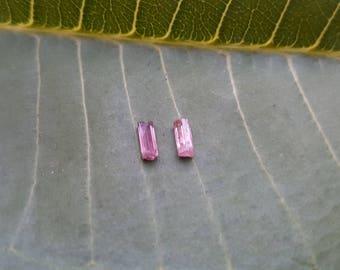 Pink Tourmaline Small Pair