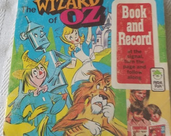 Wizard of Oz Book and Record - Peter Pan