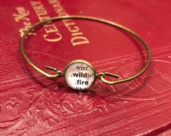 Wild Bangle Bracelet