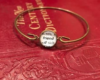 Friend Bangle Bracelet