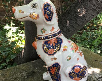 Chinese Vintage Hand Painted Dog