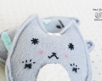 Cat toys catnip, Unique cat toys, Felt cat toys, Organic cat toys, Modern cat toys, Crinkle cat toys, Kawaii cat toy, Vegan, Eco friendly
