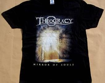 Theocracy Mirror Of Souls T-shirt 100% Cotton