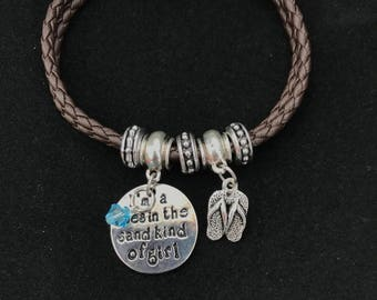 Love the Beach Charm Bracelet