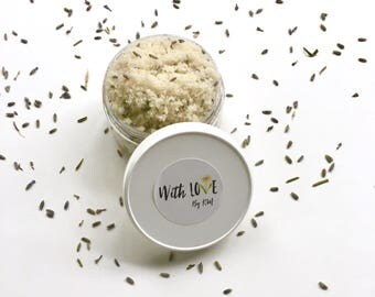 LAVENDER BODY SCRUB | Organic Scrub | Lavender Scrub | Natural Body Scrub | Vegan Body Scrub | Organic Scrub | Lavender Sugar Scrub