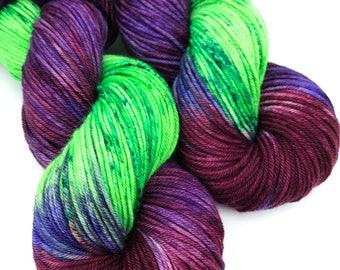Grapery- DK weight, Superwash Merino, 250 yards, Hand dyed Yarn