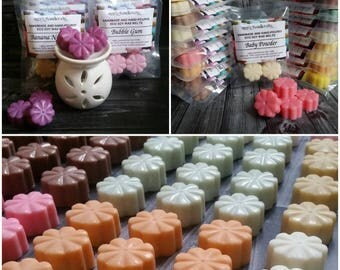 50 Scents | Wax Melts | Highly Scented Wax Melts | Soy Wax Melts | Eco Soy Wax Melts | Scented Wax Tarts | Wax Tarts | Natural Wax Melts