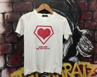 Super Lovers Japan Streetwear Tshirt