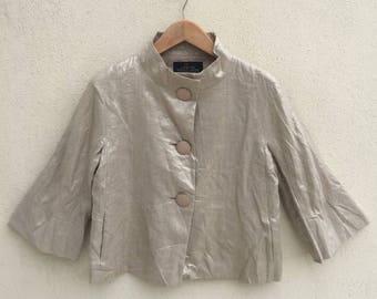 Yoshie Inaba Designer Jacket/Designer Blouse/Japanese Brand/Size 38