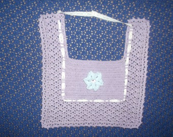 child bibs different models and colors hand crocheted