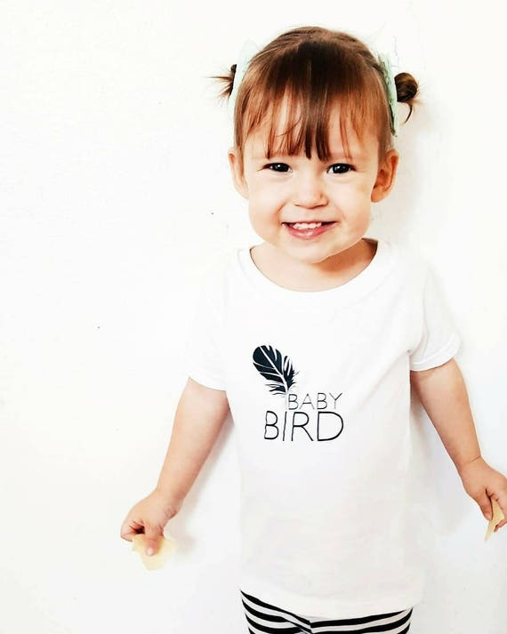 Baby Bird Tee, Baby Bird, Baby Bird Tee, Baby Tee, Baby Gift, Baby Shower Gift
