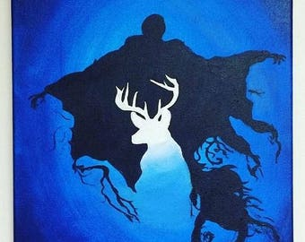 Classic Dementor-Patronus Painting