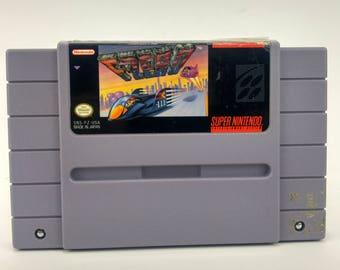 Super Nintendo F-Zero Game Authentic