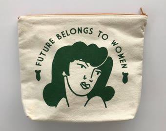 Bag Female Boobie Power/cosmetic bag large size.
