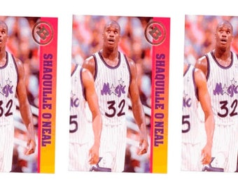 5 - 1993 Ballstreet Shaquille O'Neal Version 5 Basketball Card Lot Orlando Magic