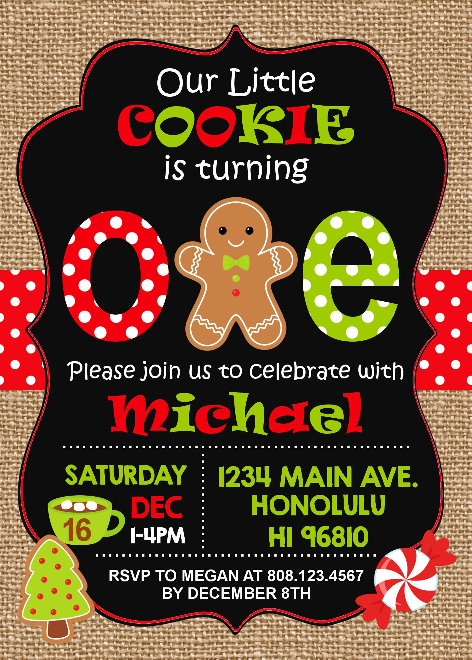 Winter onederland invitations boy gingerbread birthday invitation winter onederland invitations boy gingerbread birthday invitation christmas first birthday invitation winter first filmwisefo Images