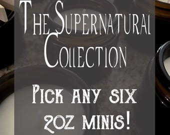 Pick Six! {From the Supernatural Collection} - 2oz Soy Candle Minis