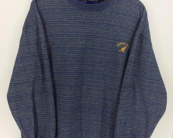 Vintage 90's Kangol Sport Classic Design Vintage Skate Sweat Shirt Sweater Varsity Jacket Size LL #A886