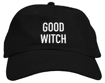 Good Witch Halloween Dad Hat Baseball Cap Low Profile