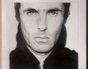 Prints of my Liam Gallagher portrait