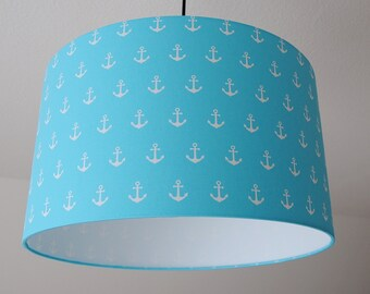 "Ceiling lamp 'anchor""(turquoise)"