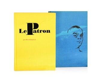 """1964 Vintage Set of French Books """"Saint-Exupéry, Prince Des Pilotes"""" (Michel Manoll) & """"Le Patron"""" (Marcel Haedrich)"""