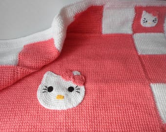 Hello Kitty Baby Blanket Crochet