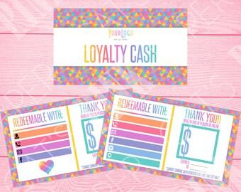 Loyalty Cash | Rainbow Triangles | Customize