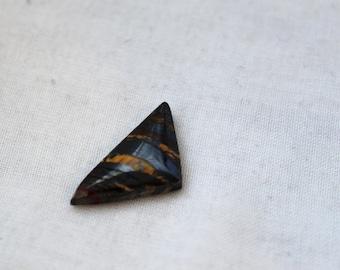 Iron Tiger Eye Cabochon - freeform Shape - P277 Gemstone