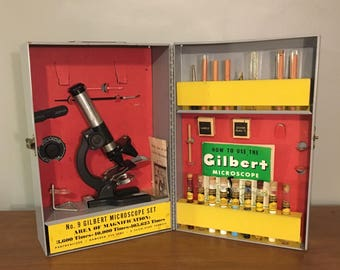 No. 9 Gilbert Mrcoscope Set