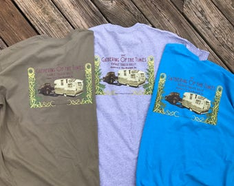 Official 'Gathering of the Times Vintage Trailer Rally 2017' LONG SLEEVE T -shirts