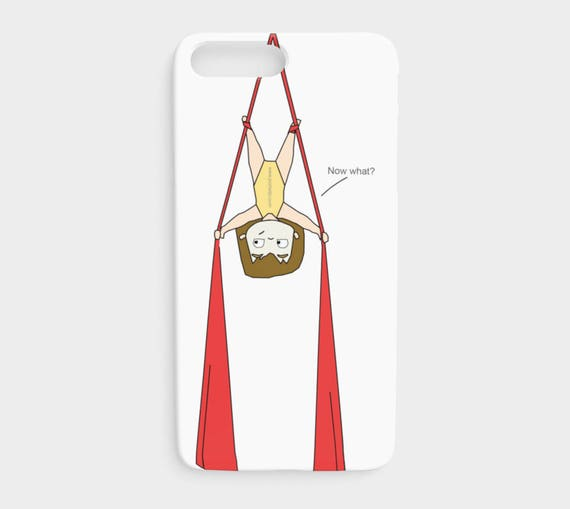 Aerial silk circus problems - iPhone case
